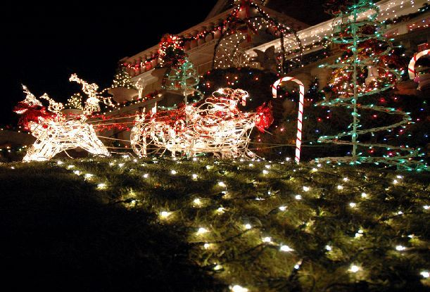 Christmas Fairy Lights Flickering