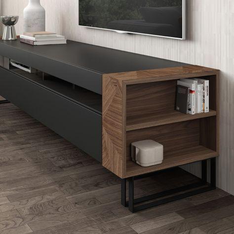 mueblesmodernos #mueblesdediseño mobilya Pinterest Wall tv