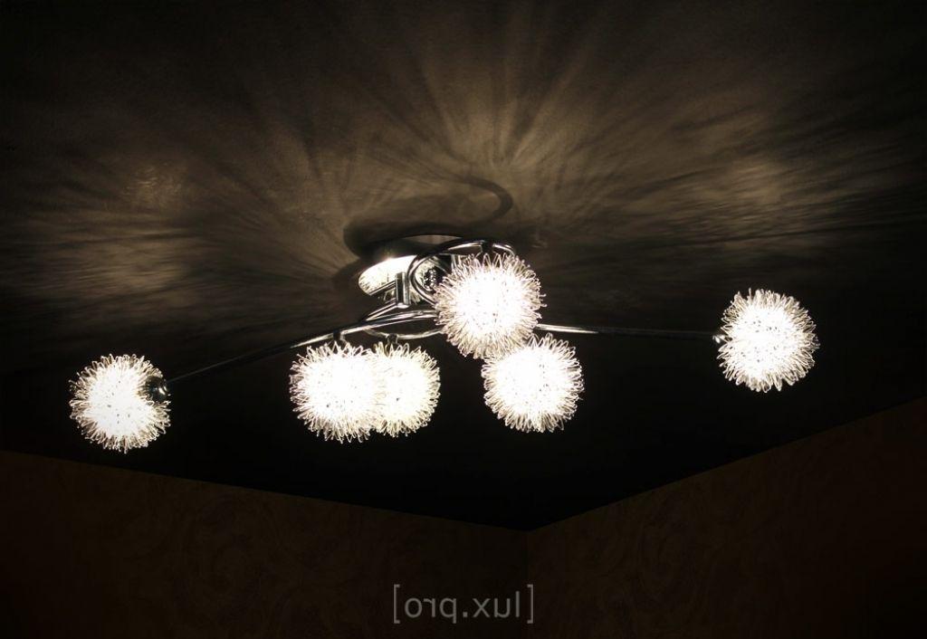 Deckenlampen wohnzimmer modern luxpro deckenleuchte 6 for Wohnzimmer lampe 6 flammig