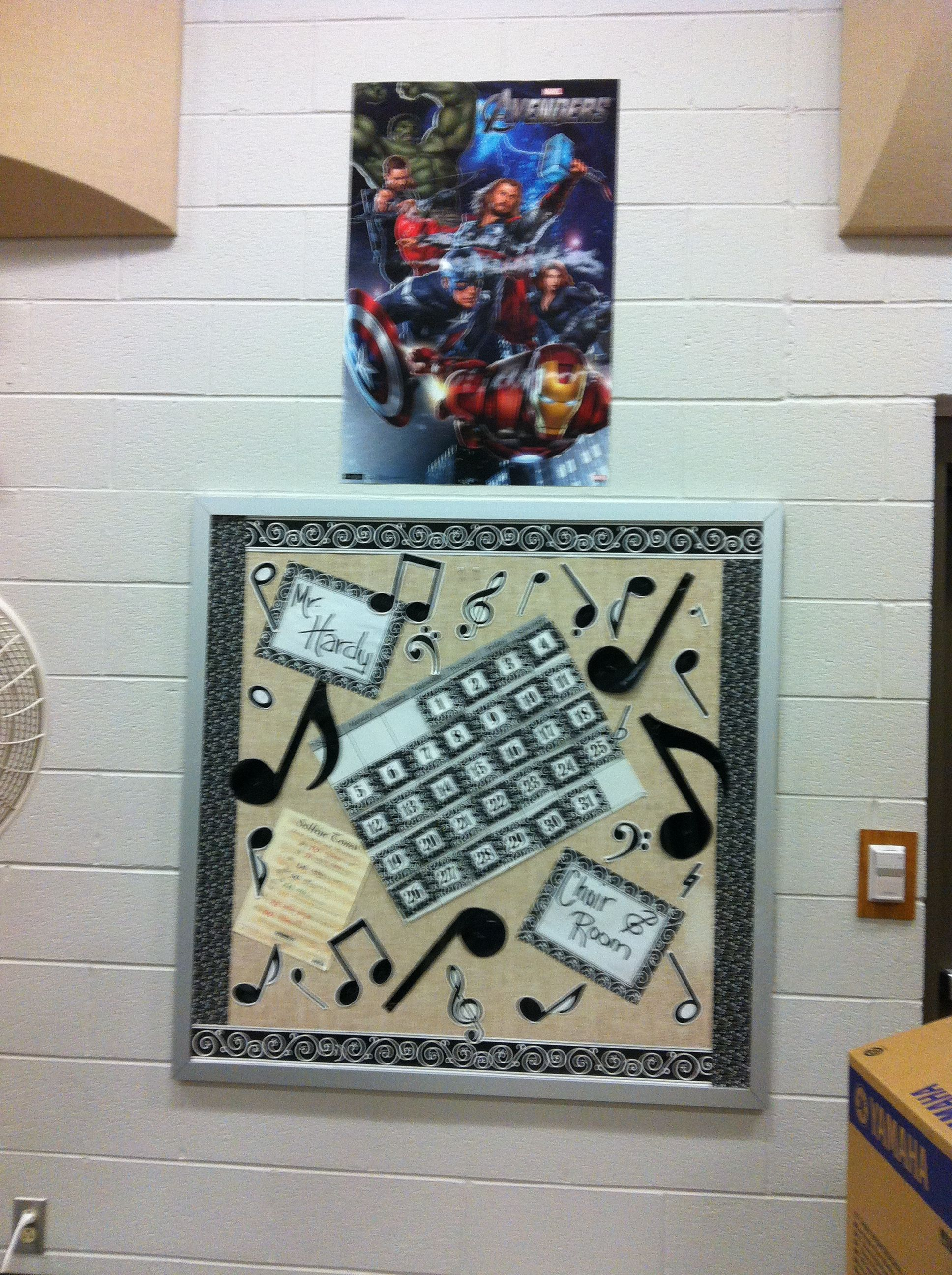 Choir Bulletin Board