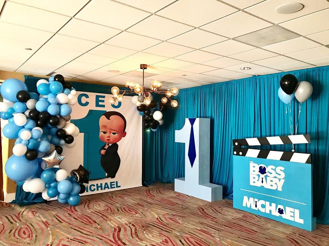 Boss Baby 1st Birthday Party For Baby Mikey Event Production