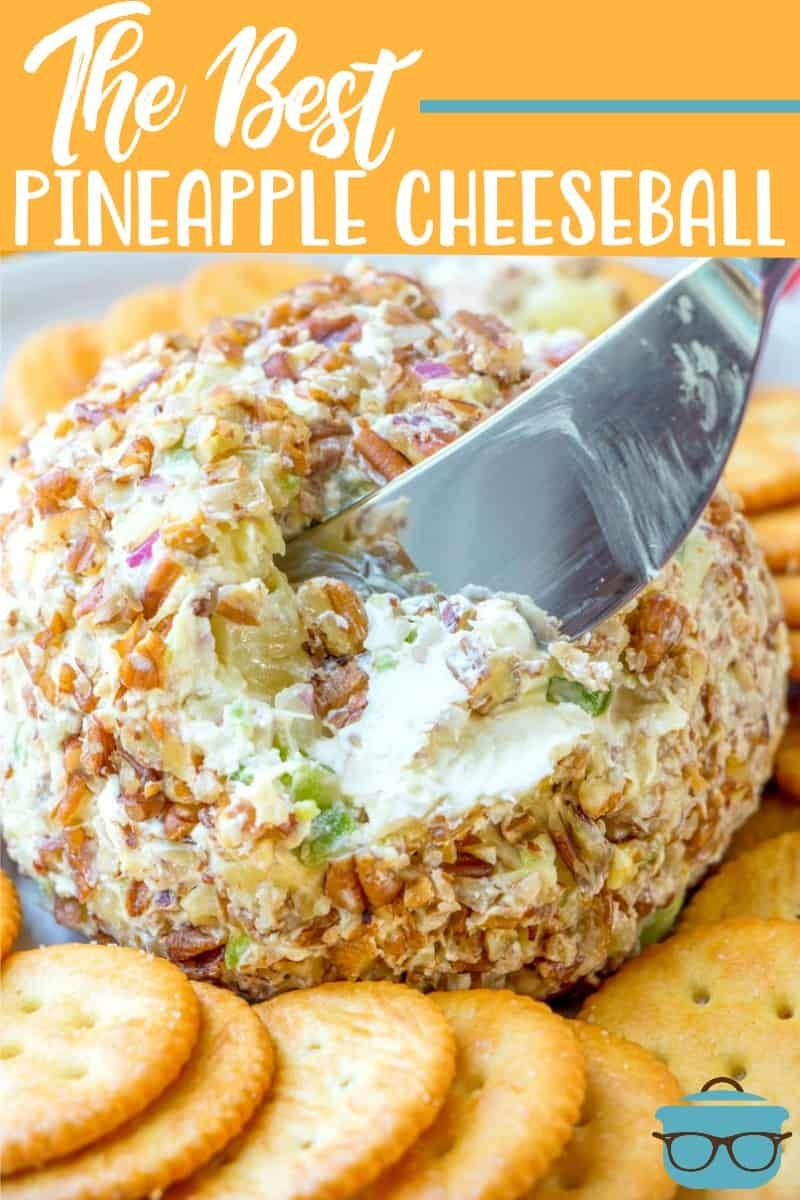 Photo of THE BEST PINEAPPLE CHEESEBALL (+Video) | The Country Cook
