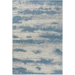 Photo of benuta Flachgewebeteppich Tosca Beige/Blau 155×235 cm – Vintage Teppich im Used-Look benuta
