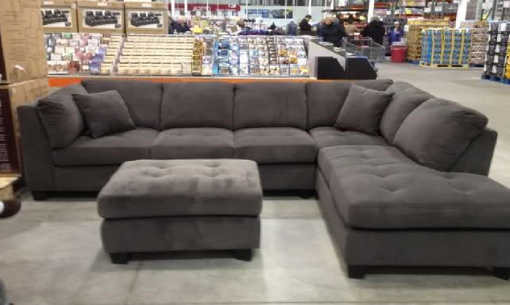 Costco 7Piece Modular Sectional Sofa in Gray Furniture