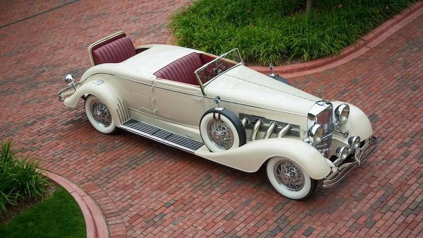 1933 Duesenberg J At Auction 2146946 Hemmings Motor News
