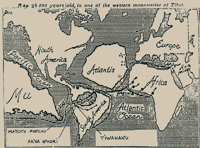 Atlantis Lemuria Mu Menschheitsgeschichte Mythologie Sumerisch