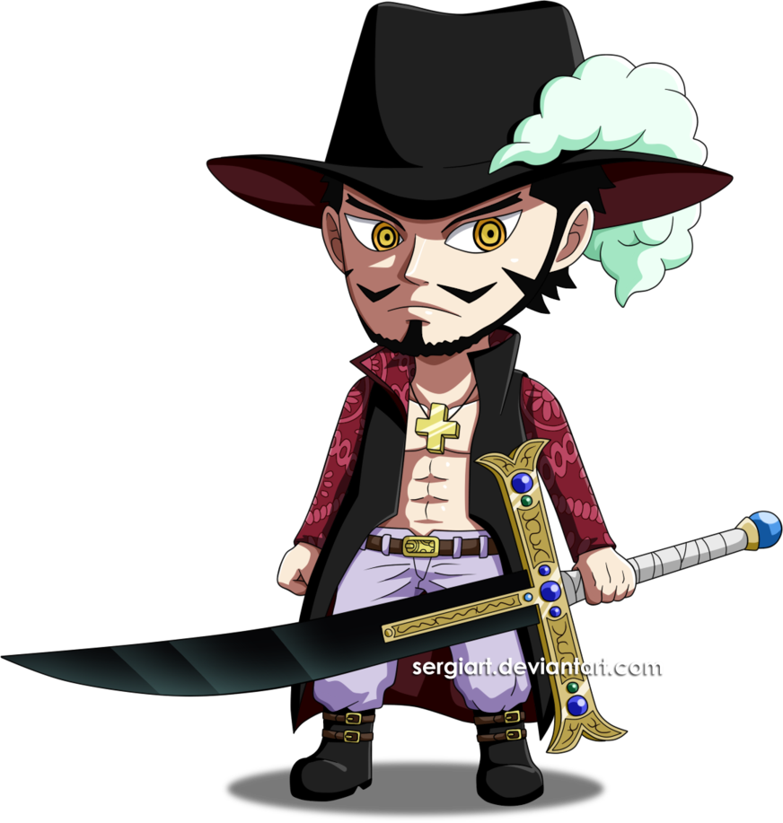 One Piece - Chibi Mihawk by SergiART on DeviantArt