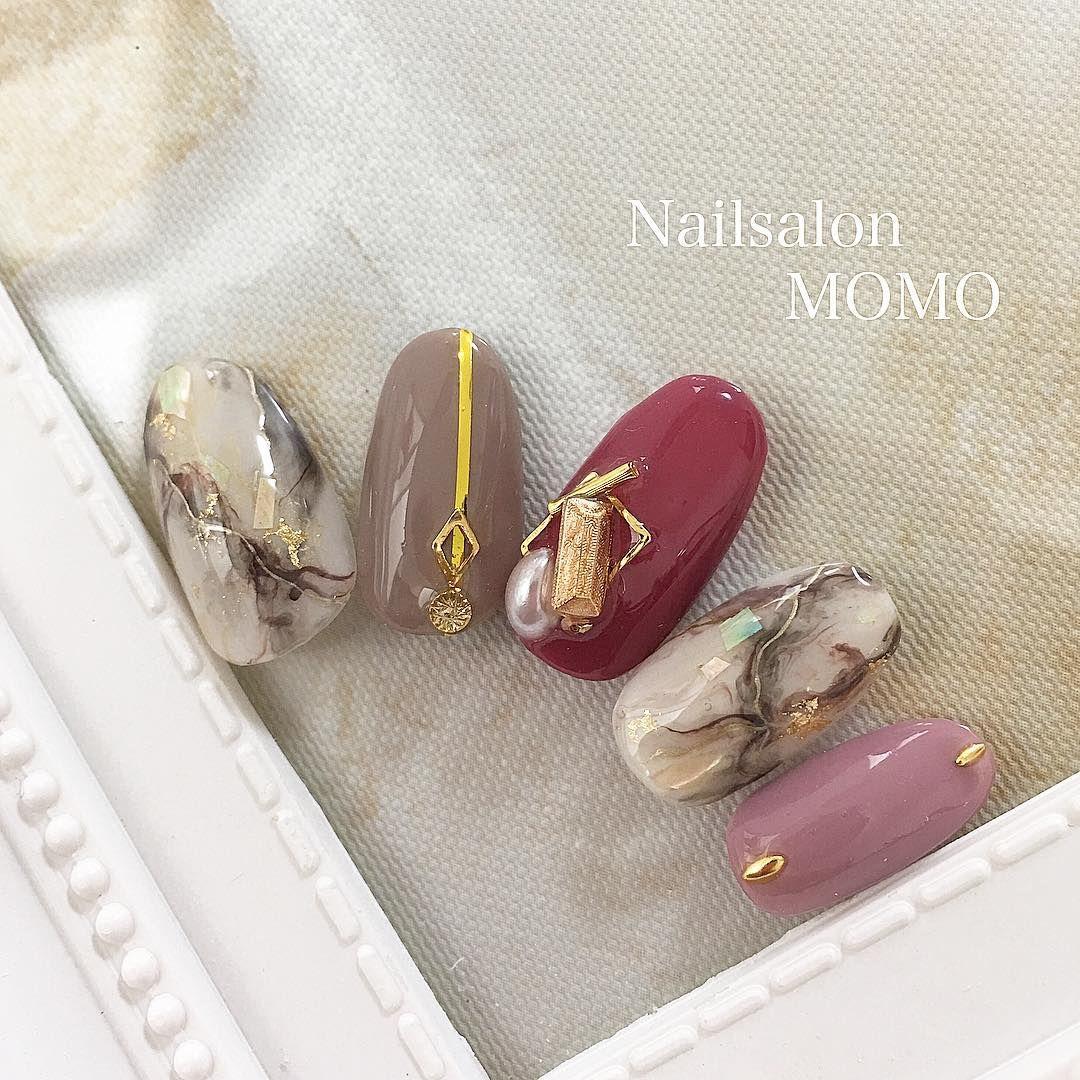 #nail#nails#nailart#nailstagram#autumnnails #nailswag# ...