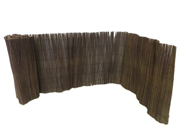 Master Garden Products Rolled Willow Border Fence, 2 by 14-Feet:Amazon:Patio, Lawn & Garden