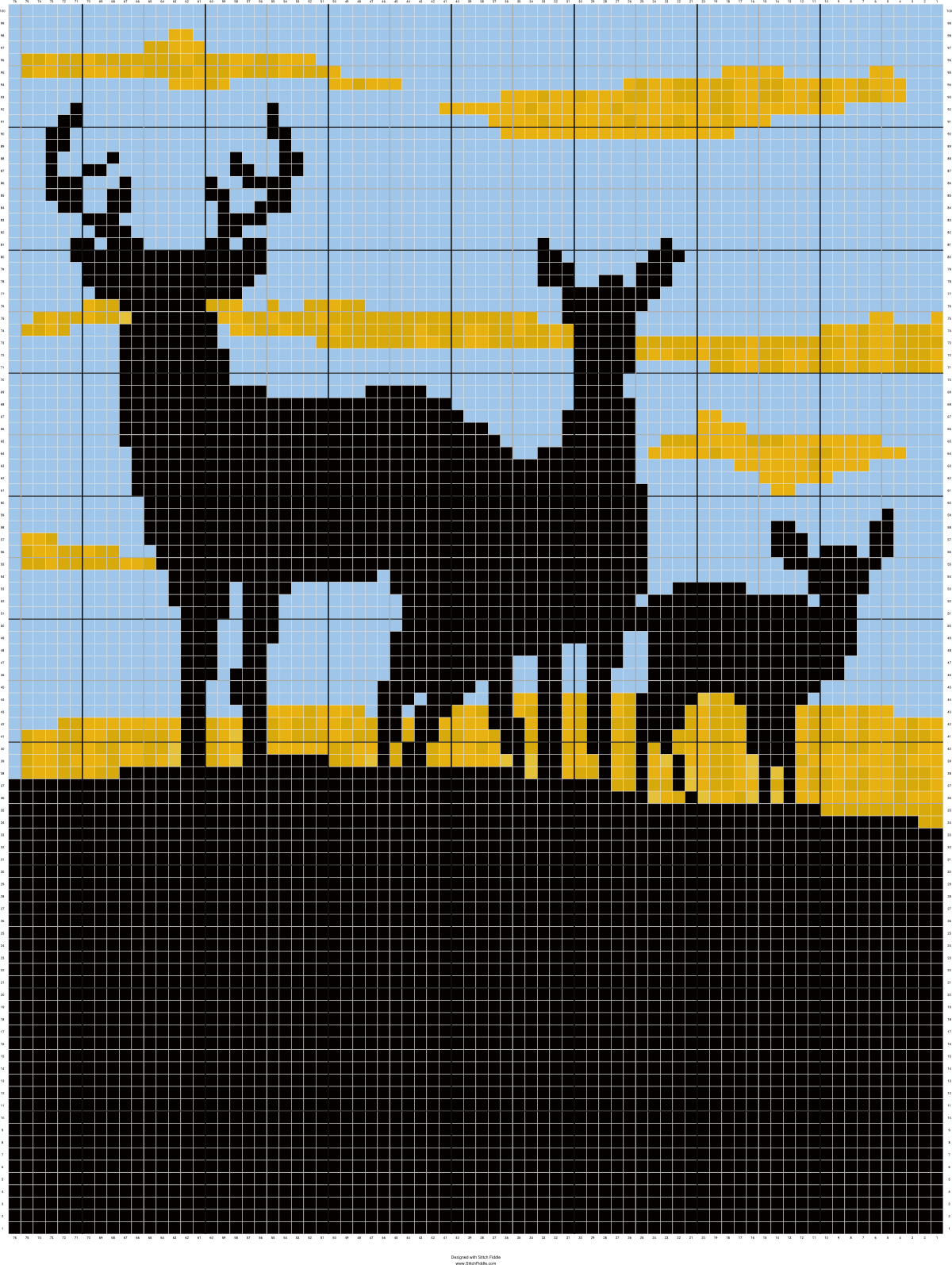 deer-buck-doe-fawn-silhouette-choose-background-afghan-crochet ...