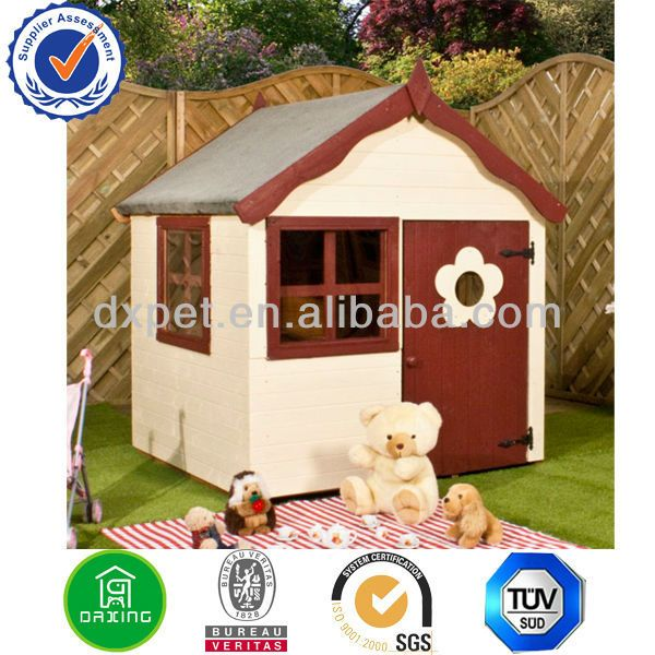 DXPH006 Kids Outdoor Play House (BV assessed supplier) $15~$100