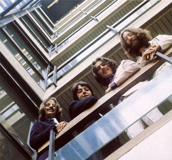 The Beatles Emi House Stairwell 1969 The Beatles