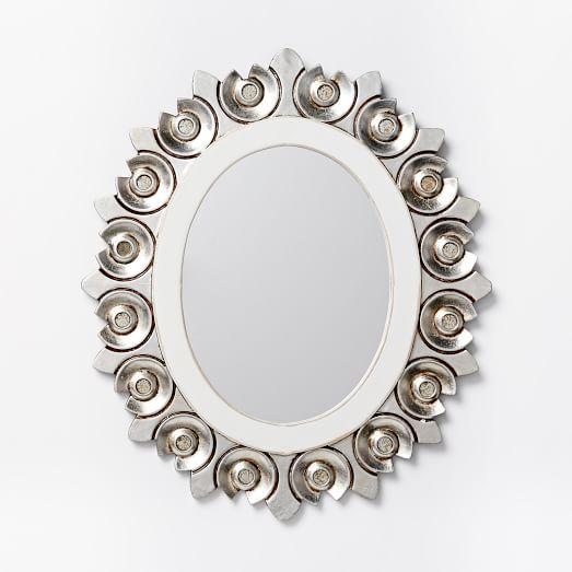 Peruvian Mirror Medium West Elm Mirror Handmade Mirrors