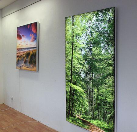 LEUCHTBILDER CLASSIC - Ihr Motiv als Leuchtbild wirkungsvoll - led im wohnzimmer