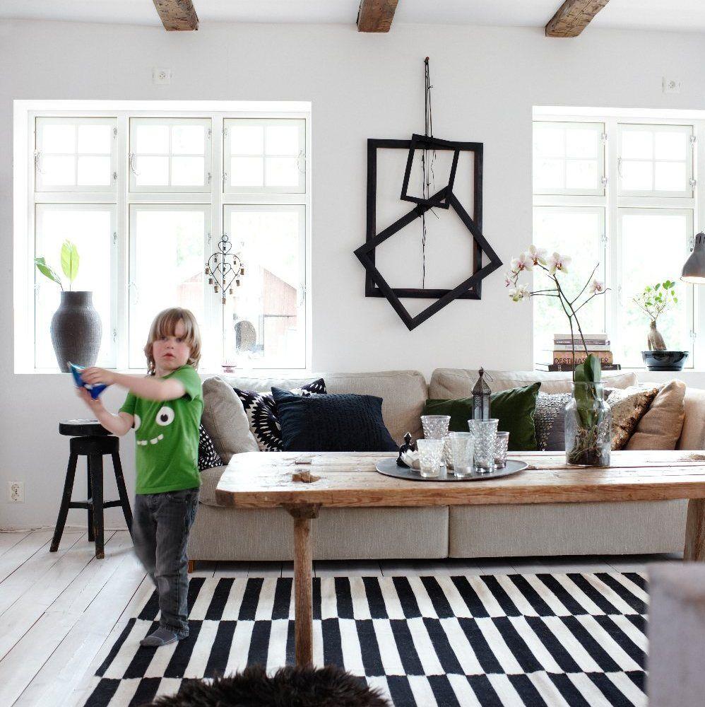 IKEA STOCKHOLM RAND tappeto, tessitura piatta 399. Cm