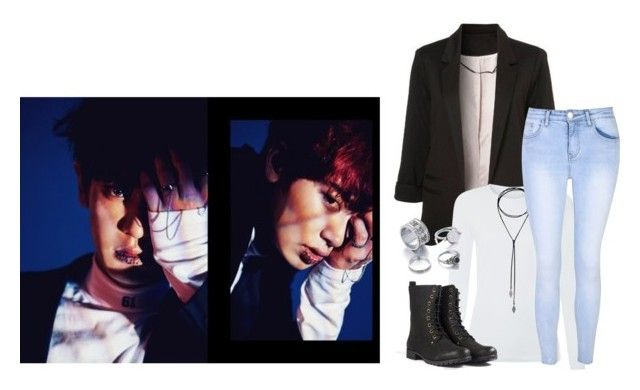 """""""Exo Monster - Chanyeol"""" by tanbo ❤ liked on Polyvore featuring Glamorous"""