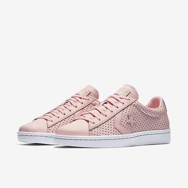 converse pro leather pink