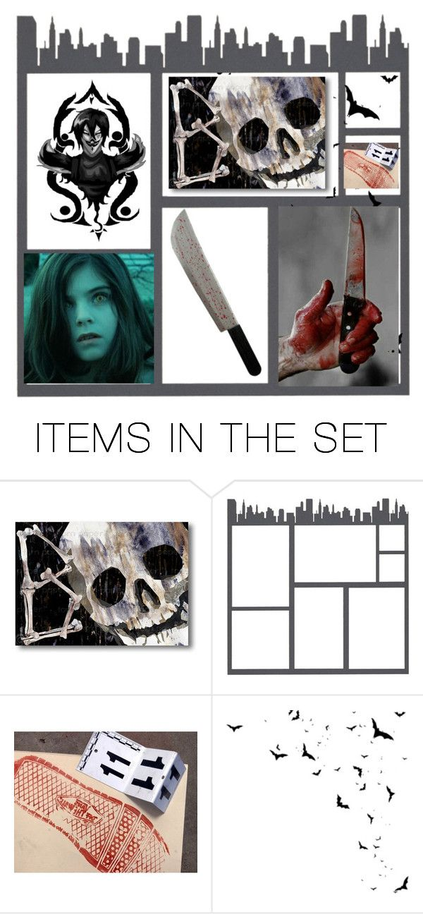 """""""Horror"""" by jinxr2m ❤ liked on Polyvore featuring art"""