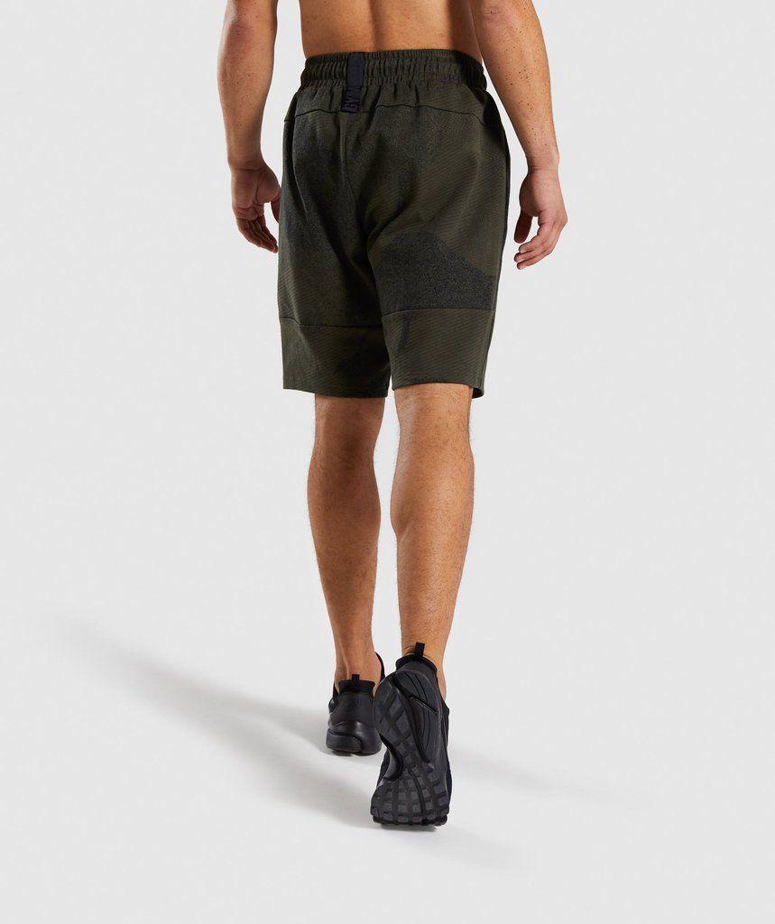 61125b053f765 Gymshark Ultra Jacquard Shorts - Woodland Green 2   My stuff in 2019 ...
