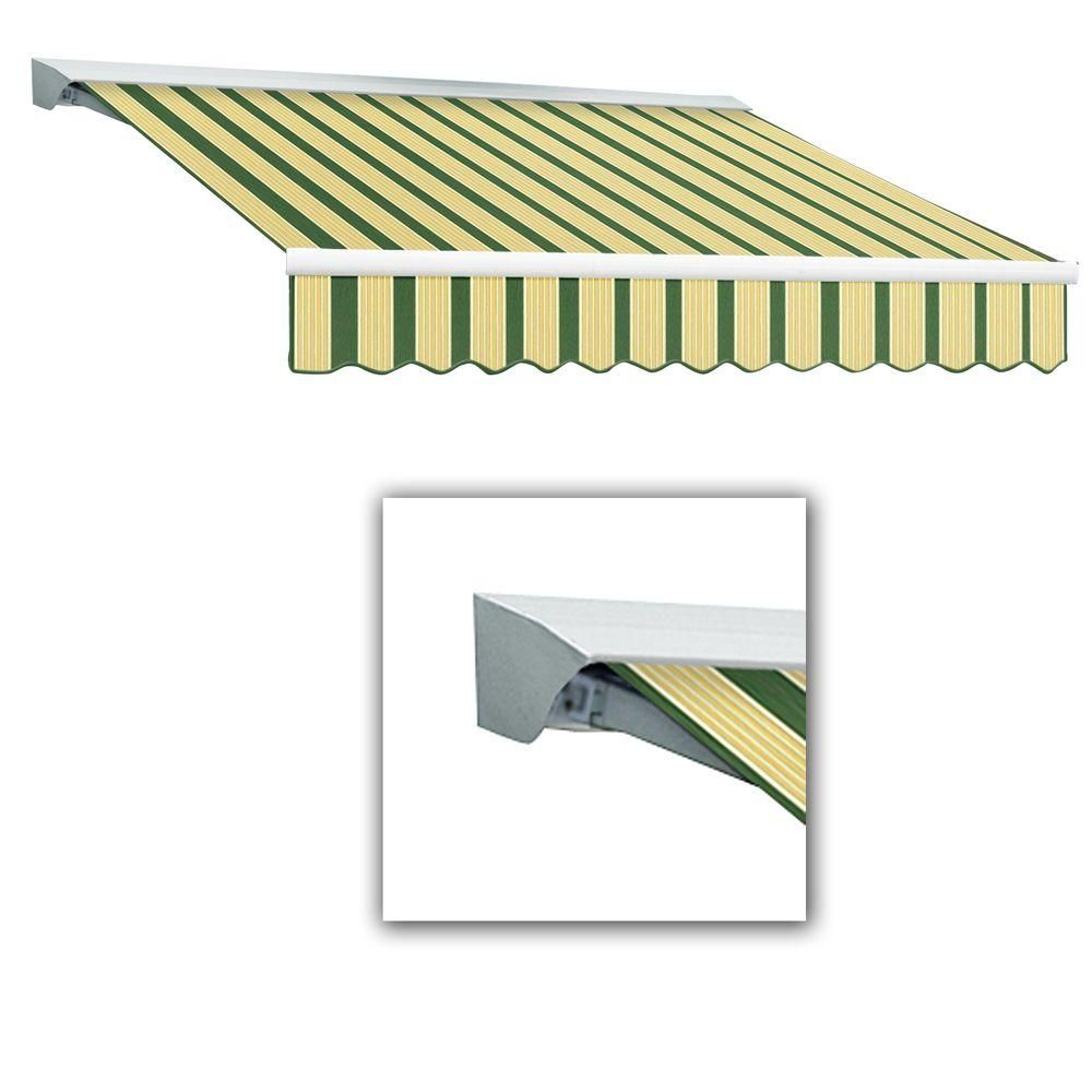 Awntech 8 Ft Lx Destin With Hood Left Motor Remote Retractable Acrylic Awning 84 In Projection In Retractable Awning Awning Retractable