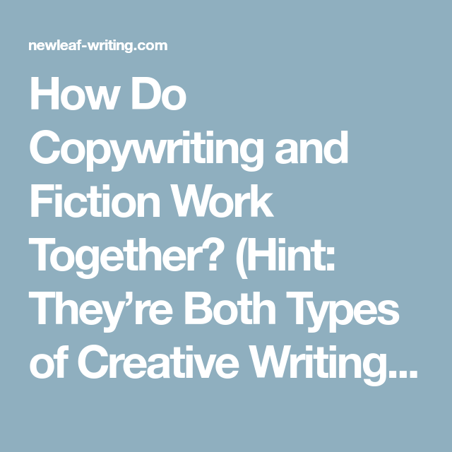 creative writing types
