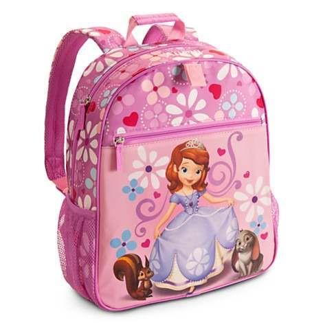 Sofia Princess Backpack Swimming Clothes Environmental Kid Drawstring School Bag