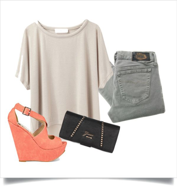 """Casual night in London"" by nina-kr95 on Polyvore"