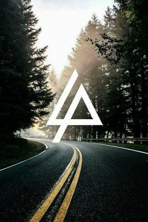 Linkin Park Logo Papeis De Parede Rock Papel De Parede Wallpaper Papel De Parede Para Telefone