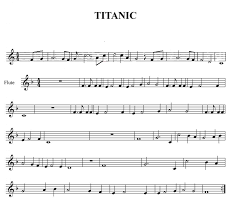 Image Result For Partitura De Violin Ambientales Sheet Music Free Sheet Music Titanic