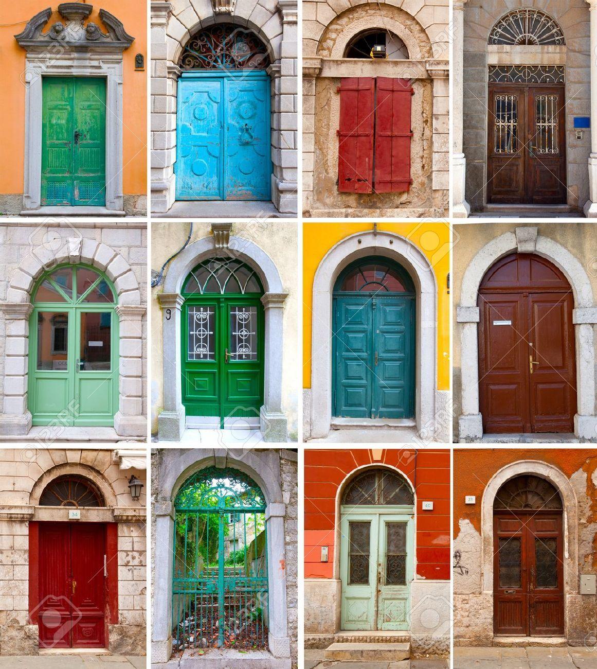 Puertas delanteras google search cortazar fachada de for Puertas para casas rusticas