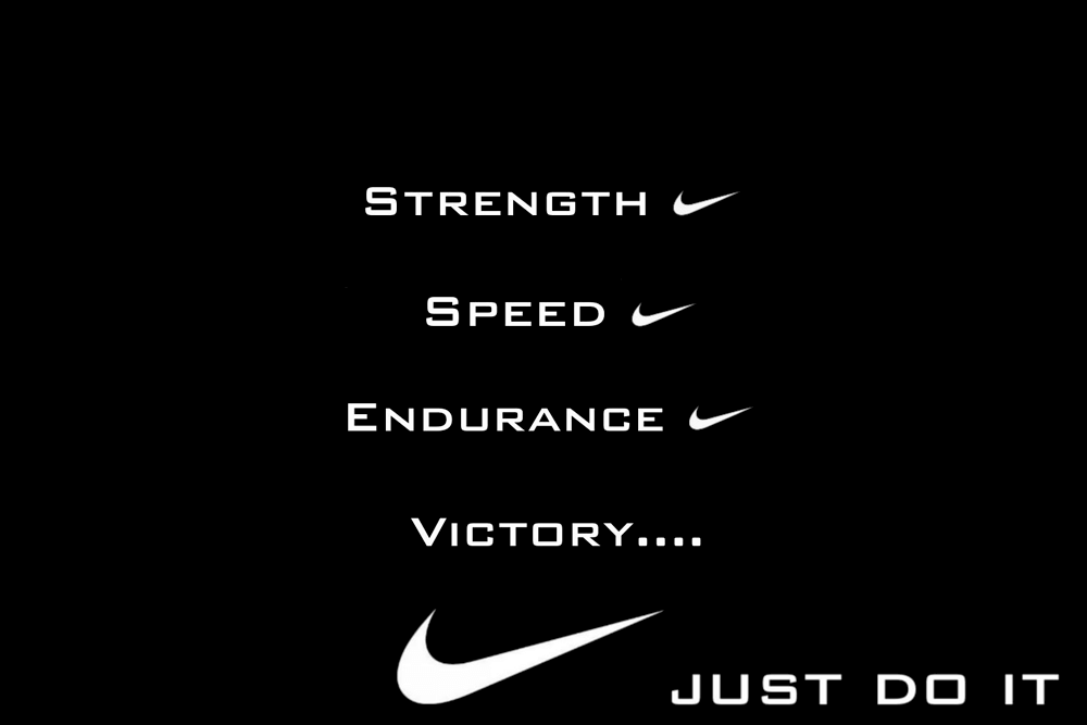 Slogan Just Do It Is A Slogan And Catchphrase By Nike This Advertisement Shows How Nike Incorpora Famous Advertising Slogans Advertising Slogans Just Do It