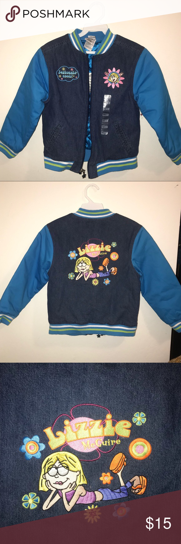 NWT! Lizzie McGuire Quilted Jean Jacket - NWT!  - Lizzie McGuire / Hilary Duff themed embroidery - Purchased from the Disney Store Disney Jackets & Coats Jean Jackets #lizziemcguire NWT! Lizzie McGuire Quilted Jean Jacket - NWT!  - Lizzie McGuire / Hilary Duff themed embroidery - Purchased from the Disney Store Disney Jackets & Coats Jean Jackets #lizziemcguire NWT! Lizzie McGuire Quilted Jean Jacket - NWT!  - Lizzie McGuire / Hilary Duff themed embroidery - Purchased from the Disney Store Disne #lizziemcguire