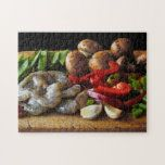 Stir Fry Ingredients Jigsaw Puzzle | Zazzle.com