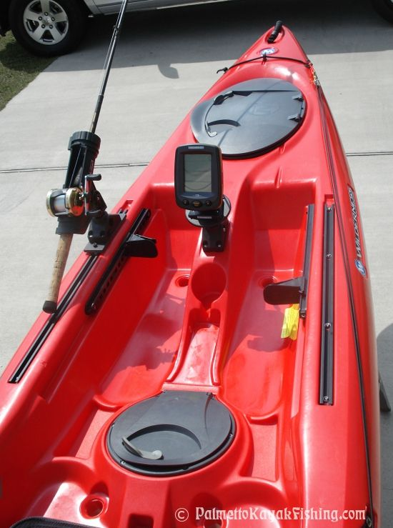 palmetto kayak fishing diy kayak fish finder install 2012
