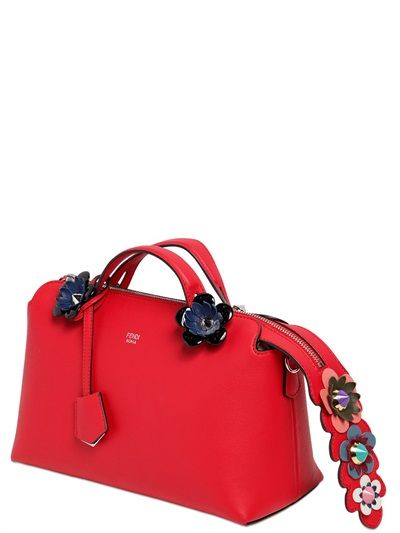 64bc0c67b1 Fendi Small By The Way Flower AppliquÉs  Bag
