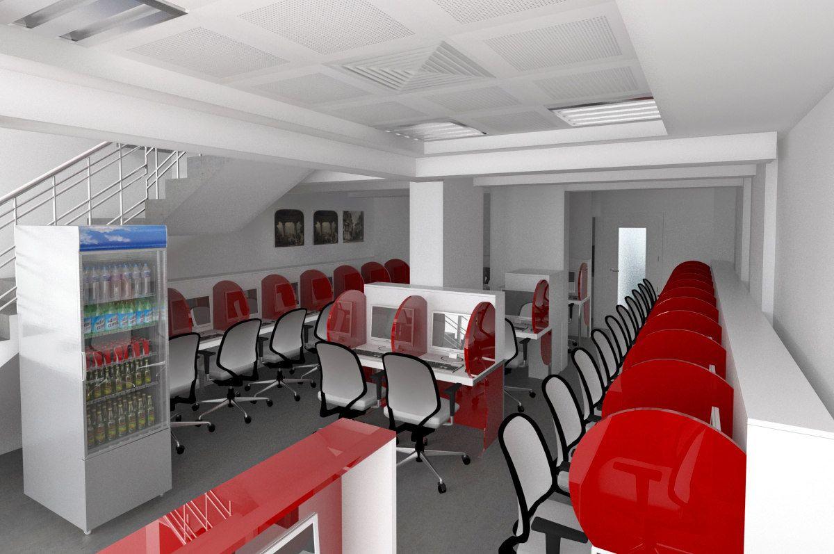 Jasa Desain Interior Warnet Desain Interior Ide Dekorasi Rumah Interior