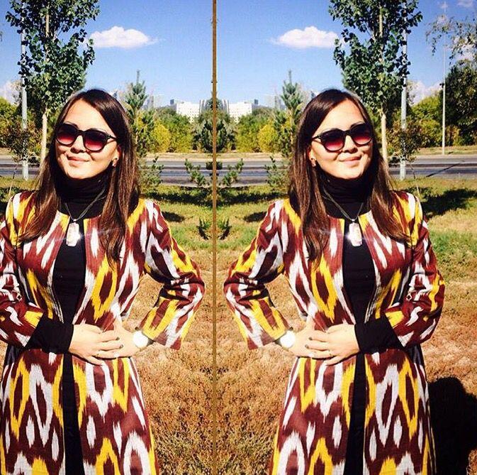 ccce87d1653 Uzbek dress adras адрас i❤️Uzbekistan