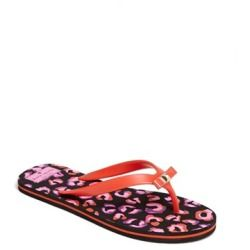 d24e3b52cdd1 Kate Spade New York  fiji  Flip Flop Maraschino Red  Disco Animal 6 ...