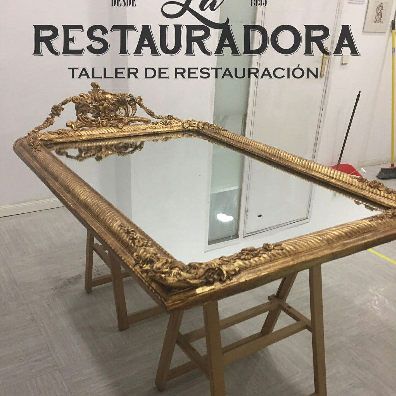 Restauraci N Marco Pan De Oro Restauracionmarcos  ~ Curso De Restauraciã³n De Muebles Madrid