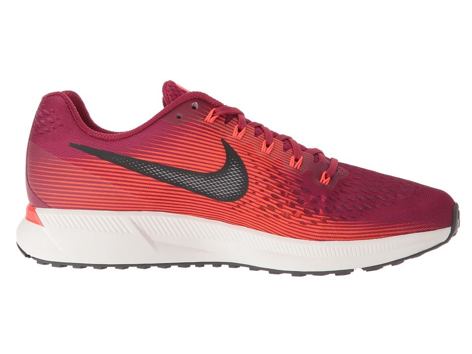 Nike Air Zoom Pegasus 34 Men's Running Shoes Rush Maroon