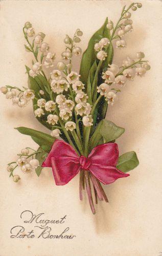 images muguet images fleurs pinterest muguet porte bonheur porte bonheur et muguet. Black Bedroom Furniture Sets. Home Design Ideas