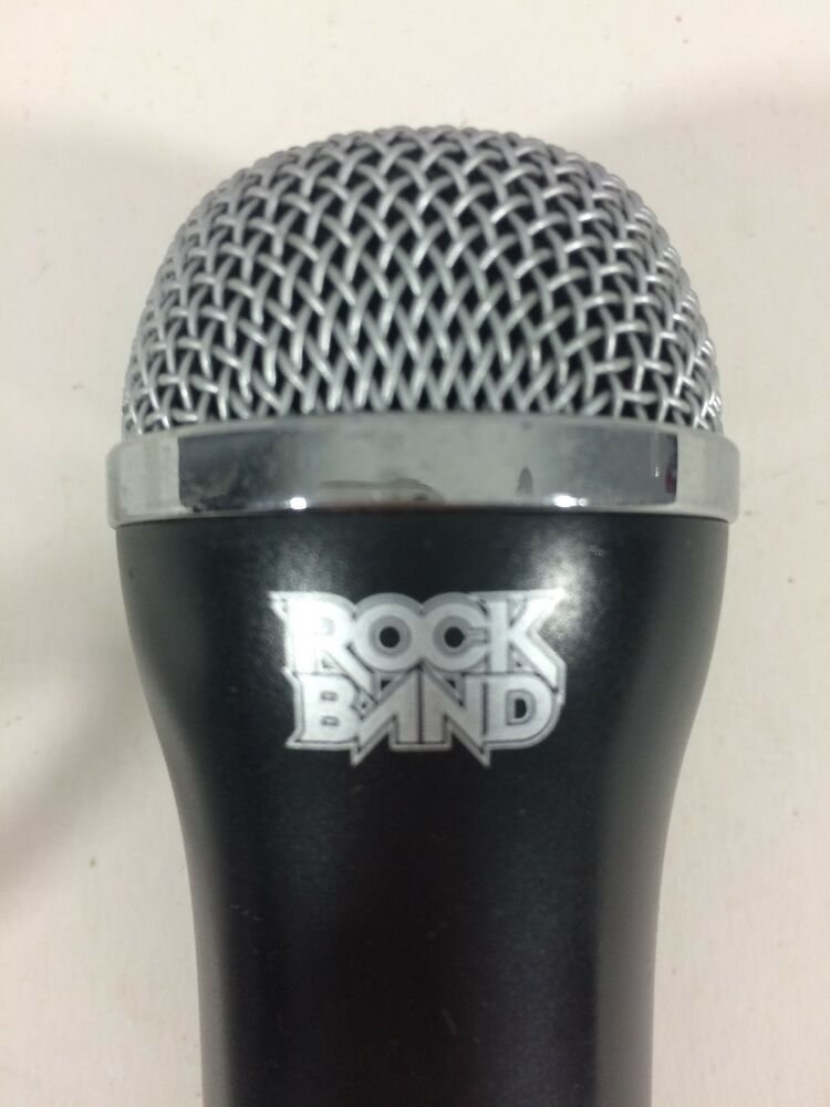 Rock Band Guitar Hero USB Microphone Wii PlayStation 2 3 PS2