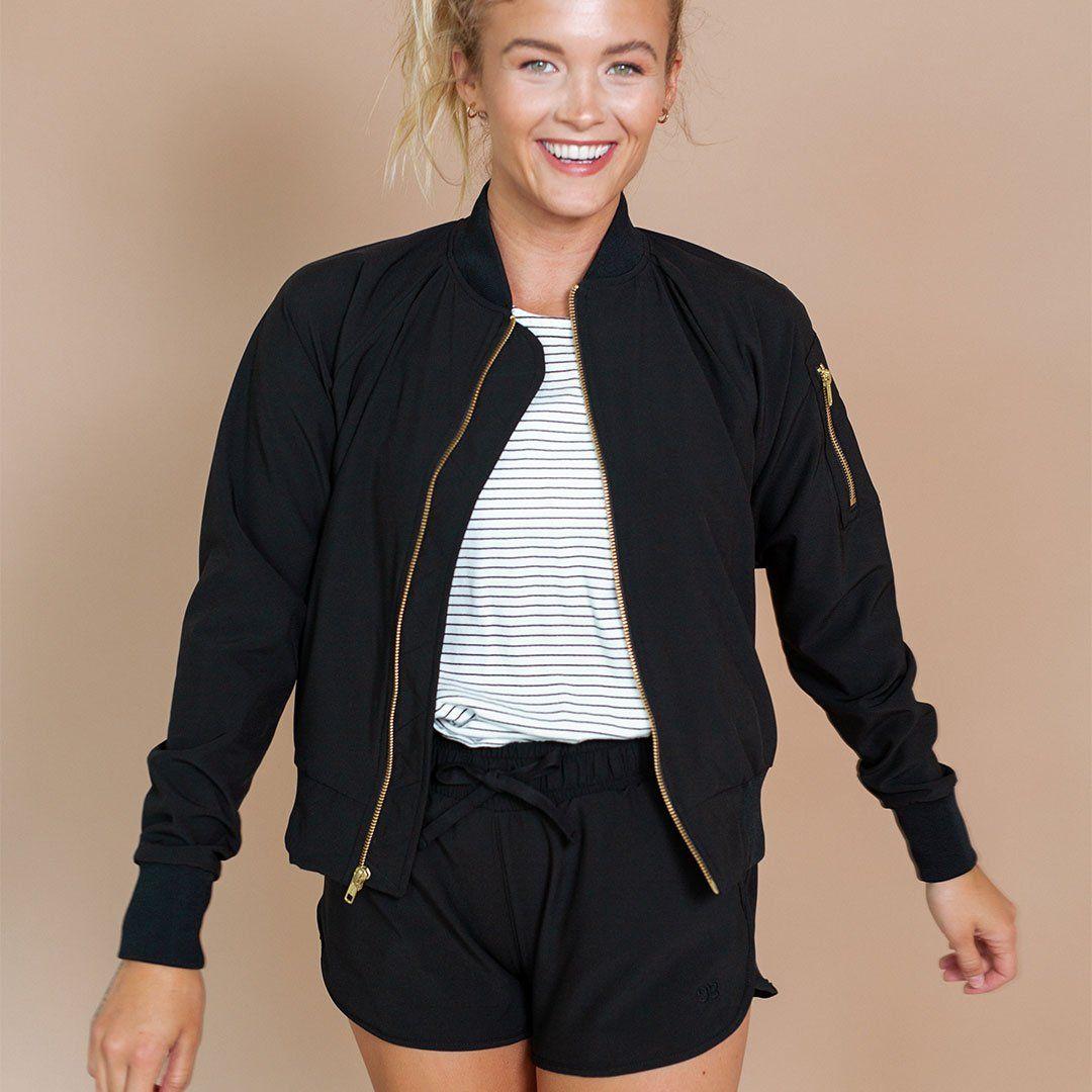 Black bomber black bomber black bomber jacket albion