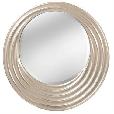 Heidi Contemporary Round Wall Mirror