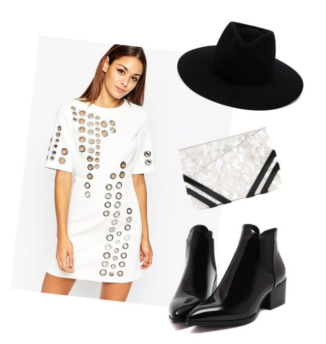 """""""Sin título #1723"""" by annaniicolle ❤ liked on Polyvore featuring ASOS, Nathalie Trad and rag & bone"""