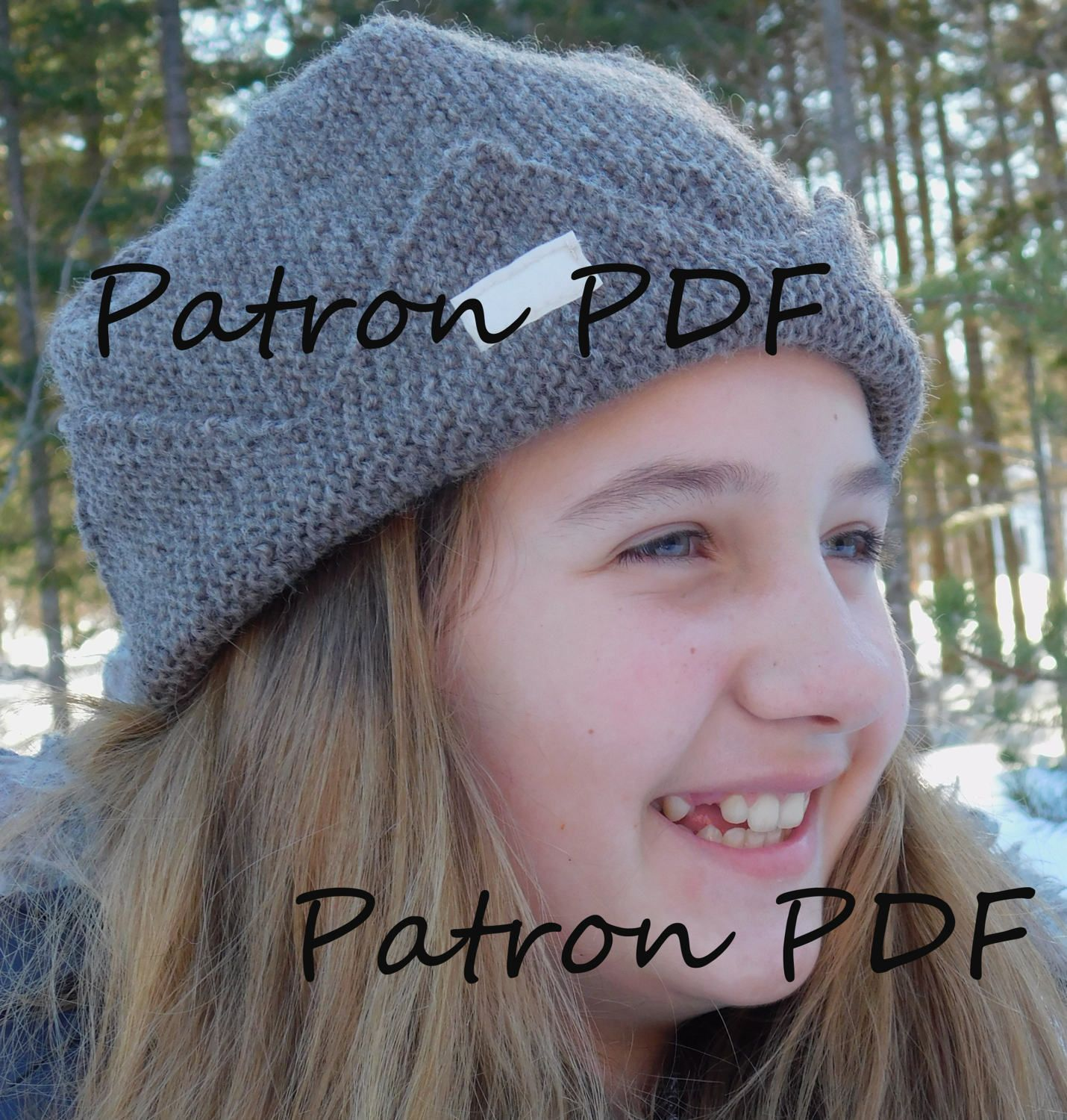 Jughead hat FRENCH PDF pattern