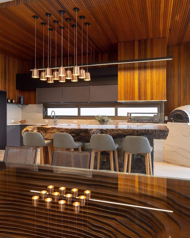 Agogo Com Imagens Design Rustico Madeira Cozinhas Integradas