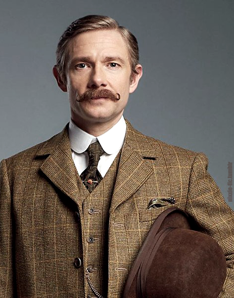 John Watson Edit In His Country Tweeds   From The Promo Pic Here (x) My  Edits From TAB Pictures: Holmes  Dr Watson I Presume