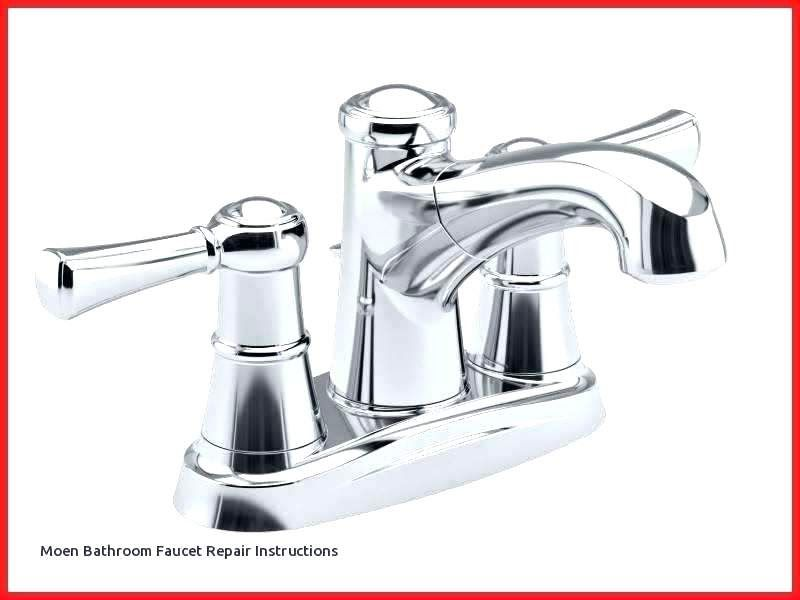 Bathroom Sink Faucet Leaking At Base Replacing These Worn Out Parts Should Solve The Lea Bathroom Faucets Kohler Bathroom Faucet Contemporary Bathroom Faucets