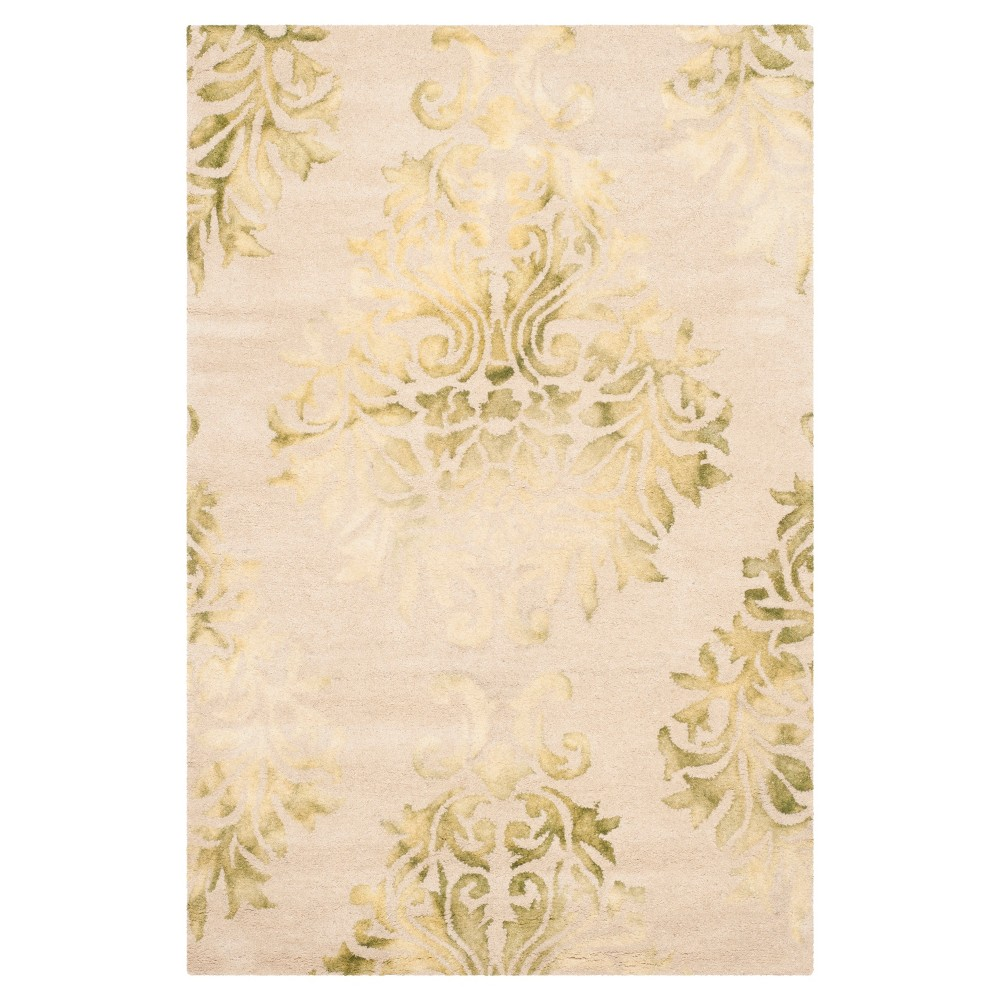 Garr Area Rug Beige Green 4 X6 Safavieh Products Area